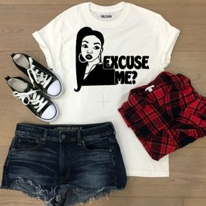 Tops - Excuse me? T-shirt